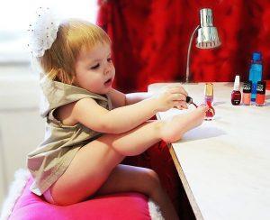 laste ravipediküür